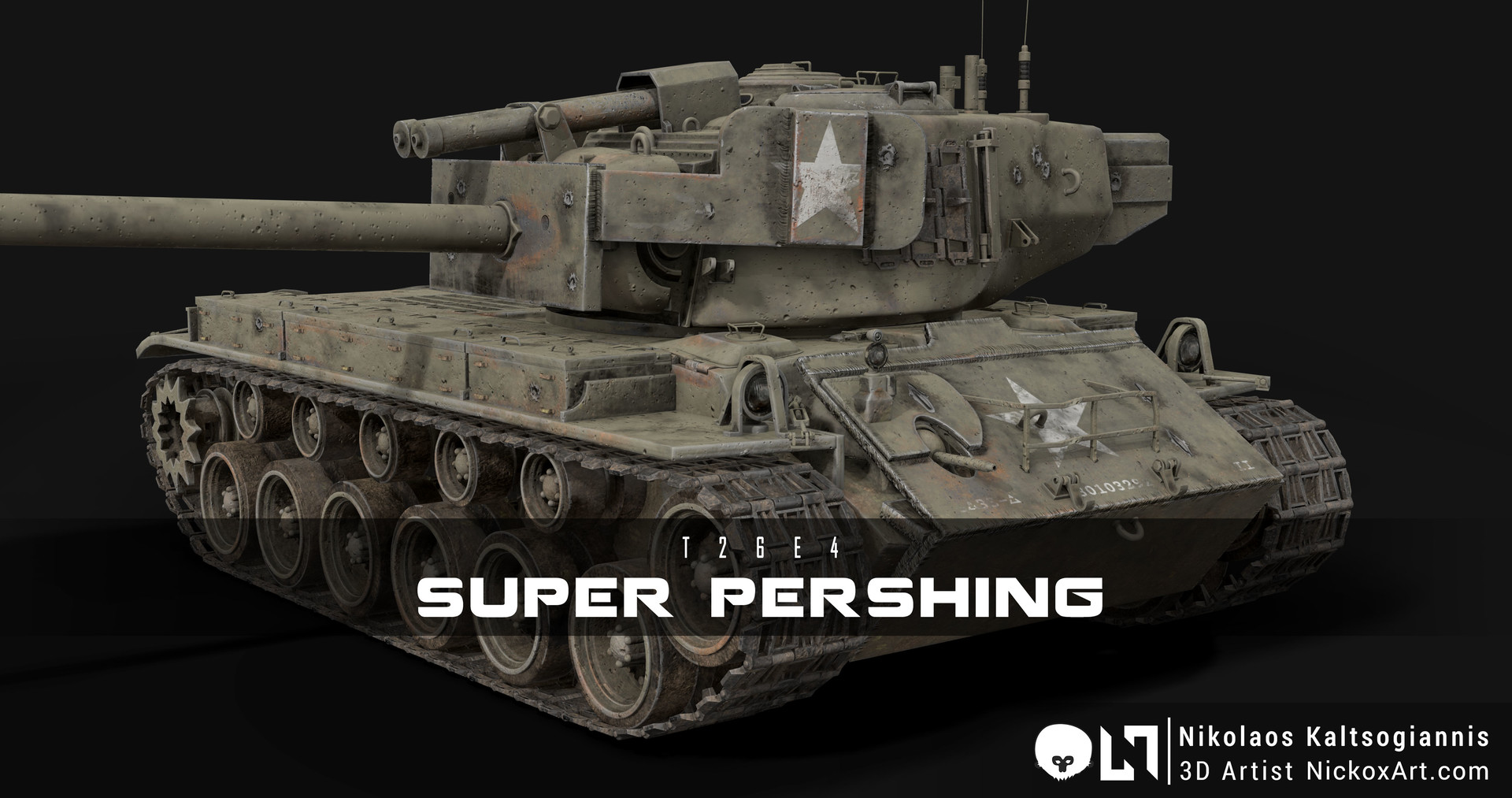 T26E4 Super Pershing : US Army Heavy Tank