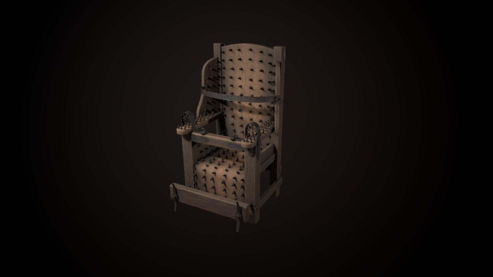 Torture Chair -7612 tris