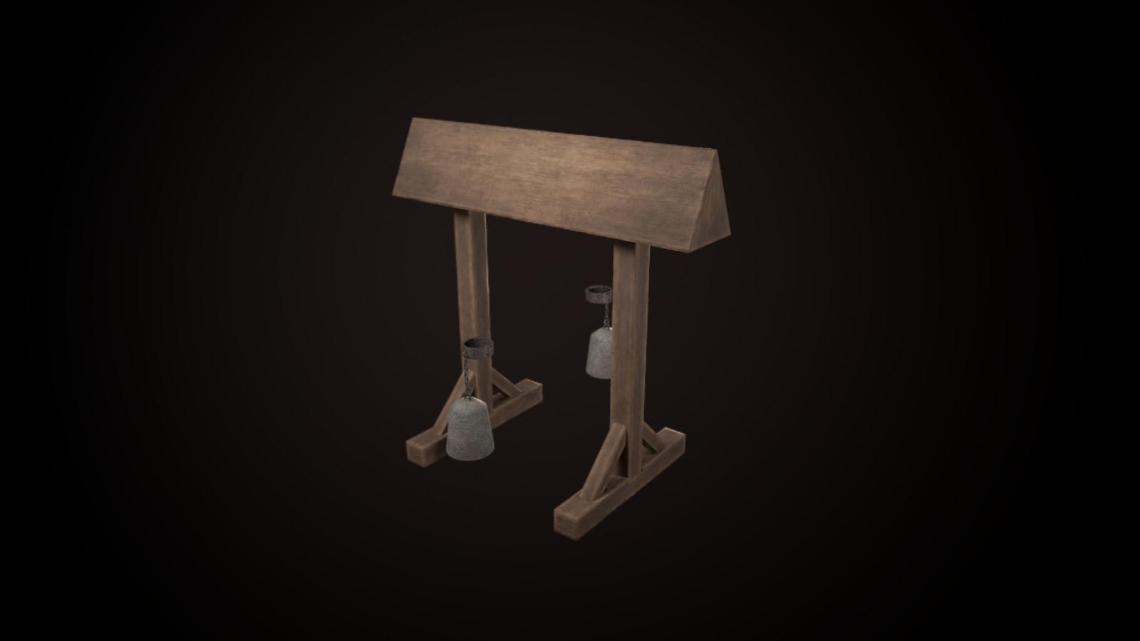 Wooden Horse - 3472 tris