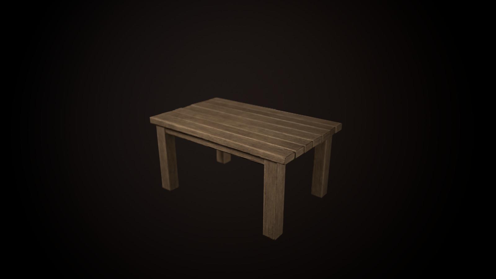 Table - 192 tris
