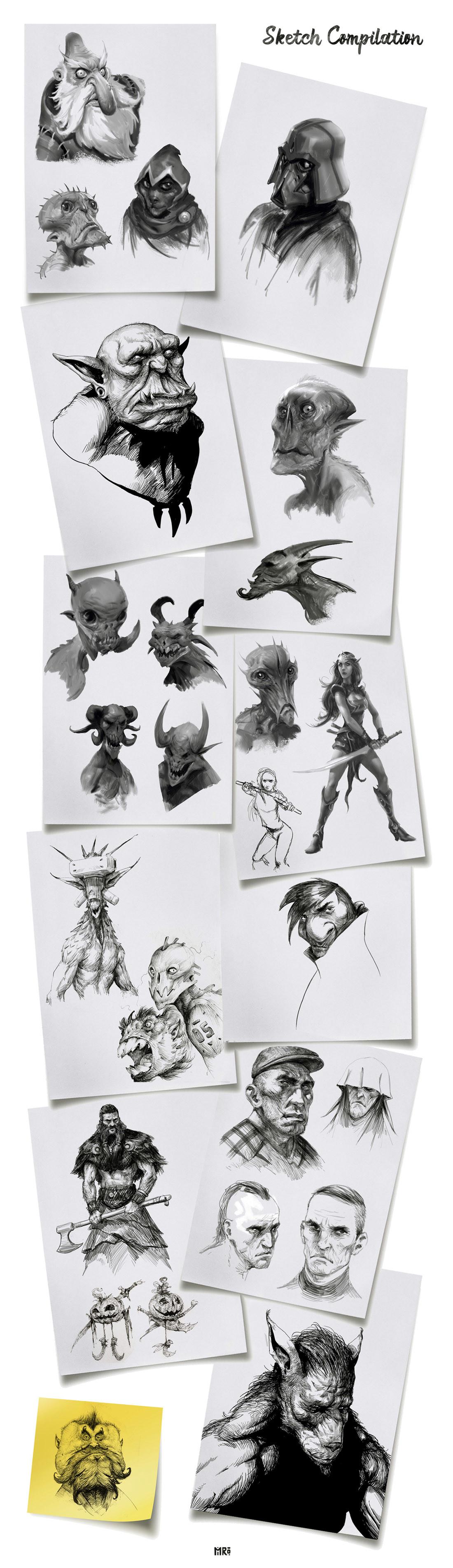 Miro petrov sketchcompilation