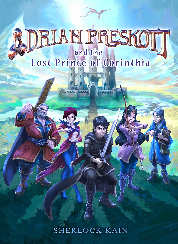 David navia adrian preskott and the lost princ of corinthia text lr
