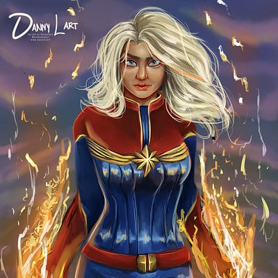 Danni mcgowan captain marvel web
