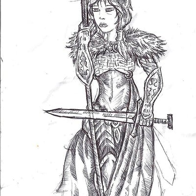 Christopher mckiernan warrior woman rough