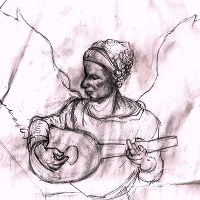 Christopher mckiernan michelangelo drawing