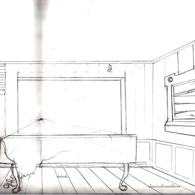 Christopher mckiernan storyboard background old house view 2