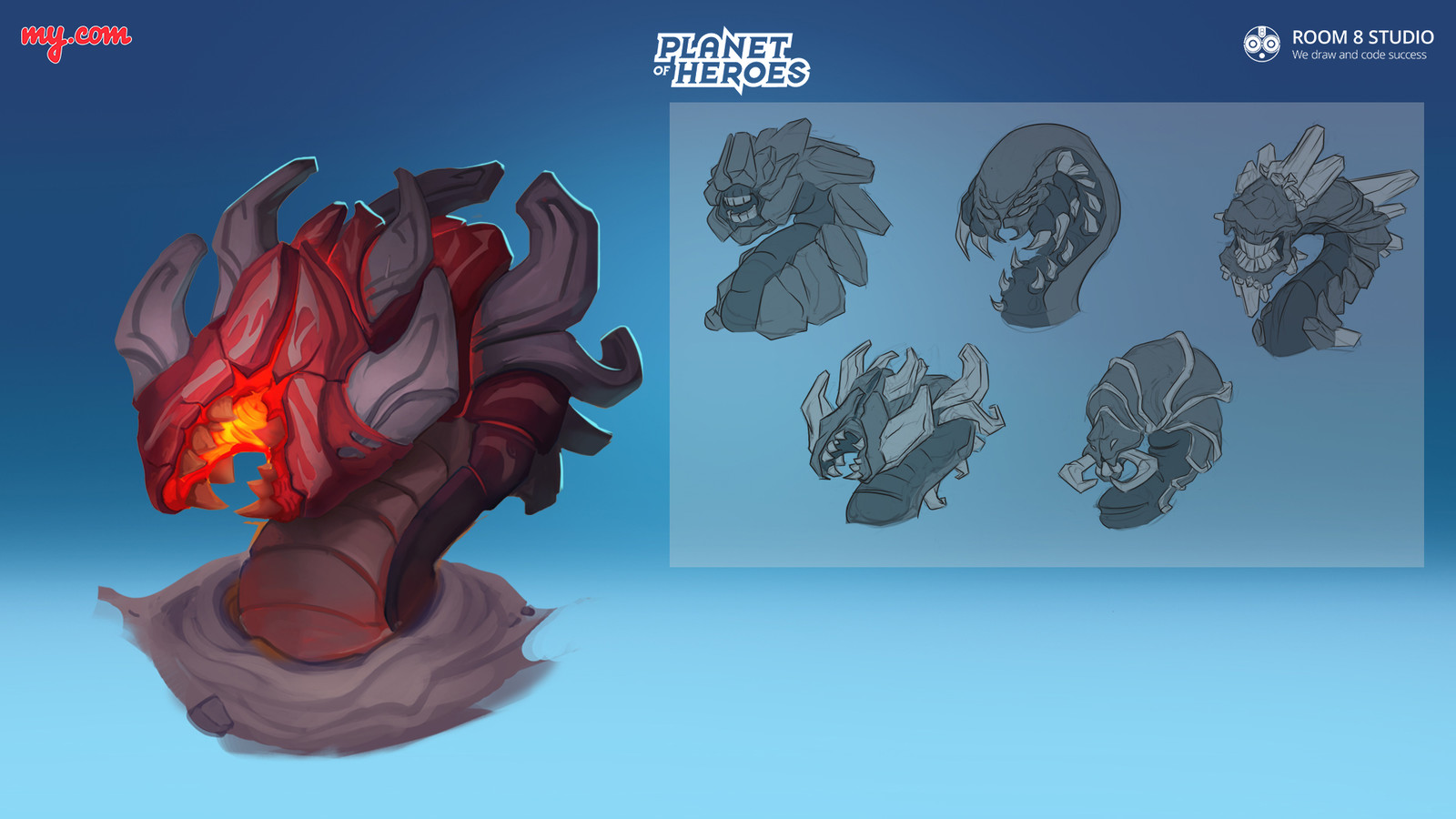 Planet of Heroes: Concept of Desert Worm