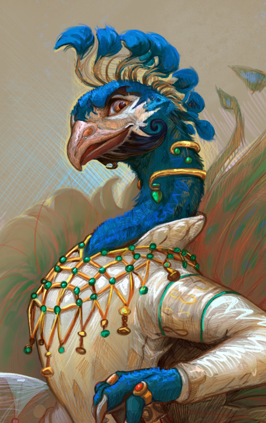 Cindy a avelino peacock adopt q
