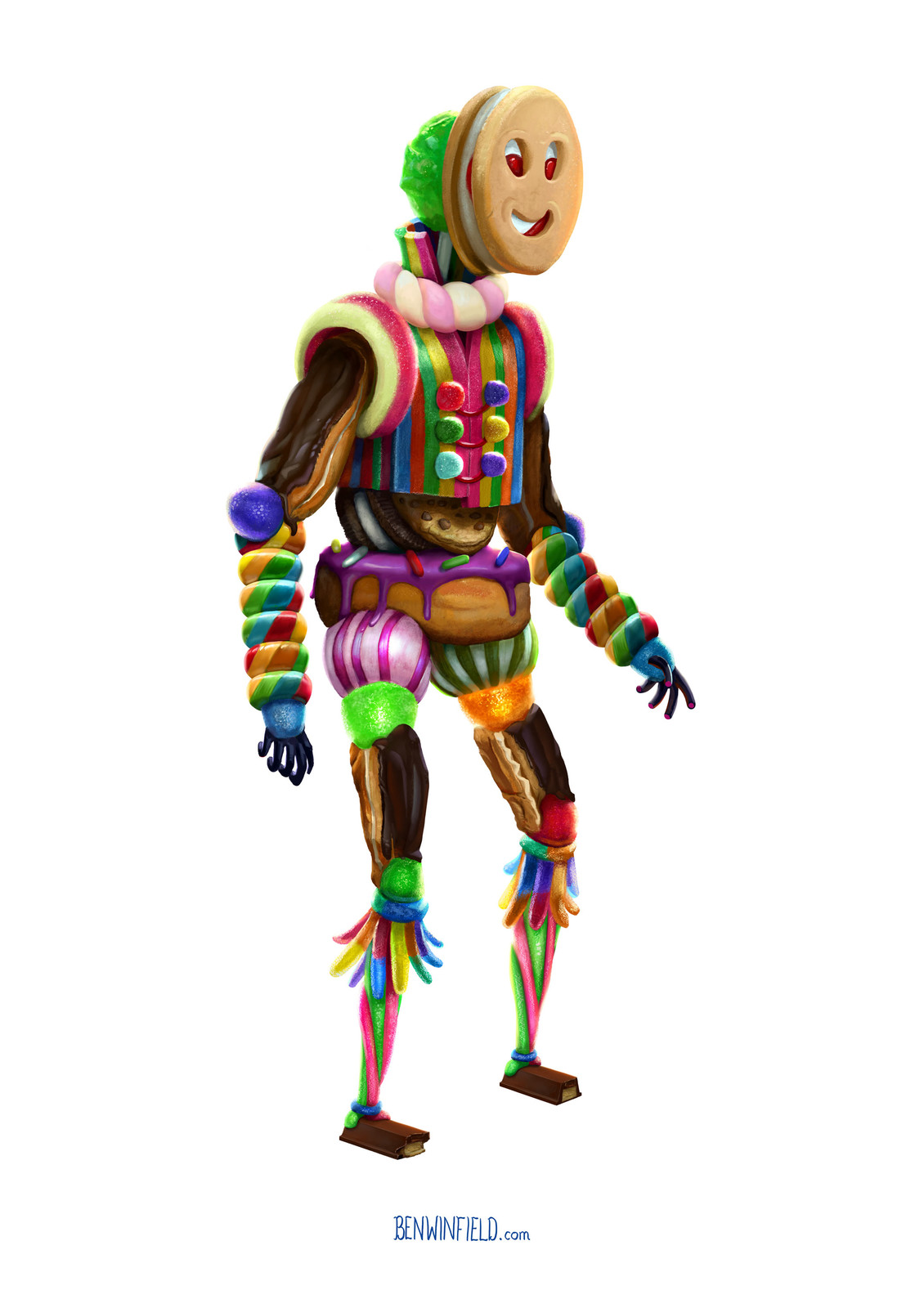 Jolly MacJammer - Character Design Challenge #45
