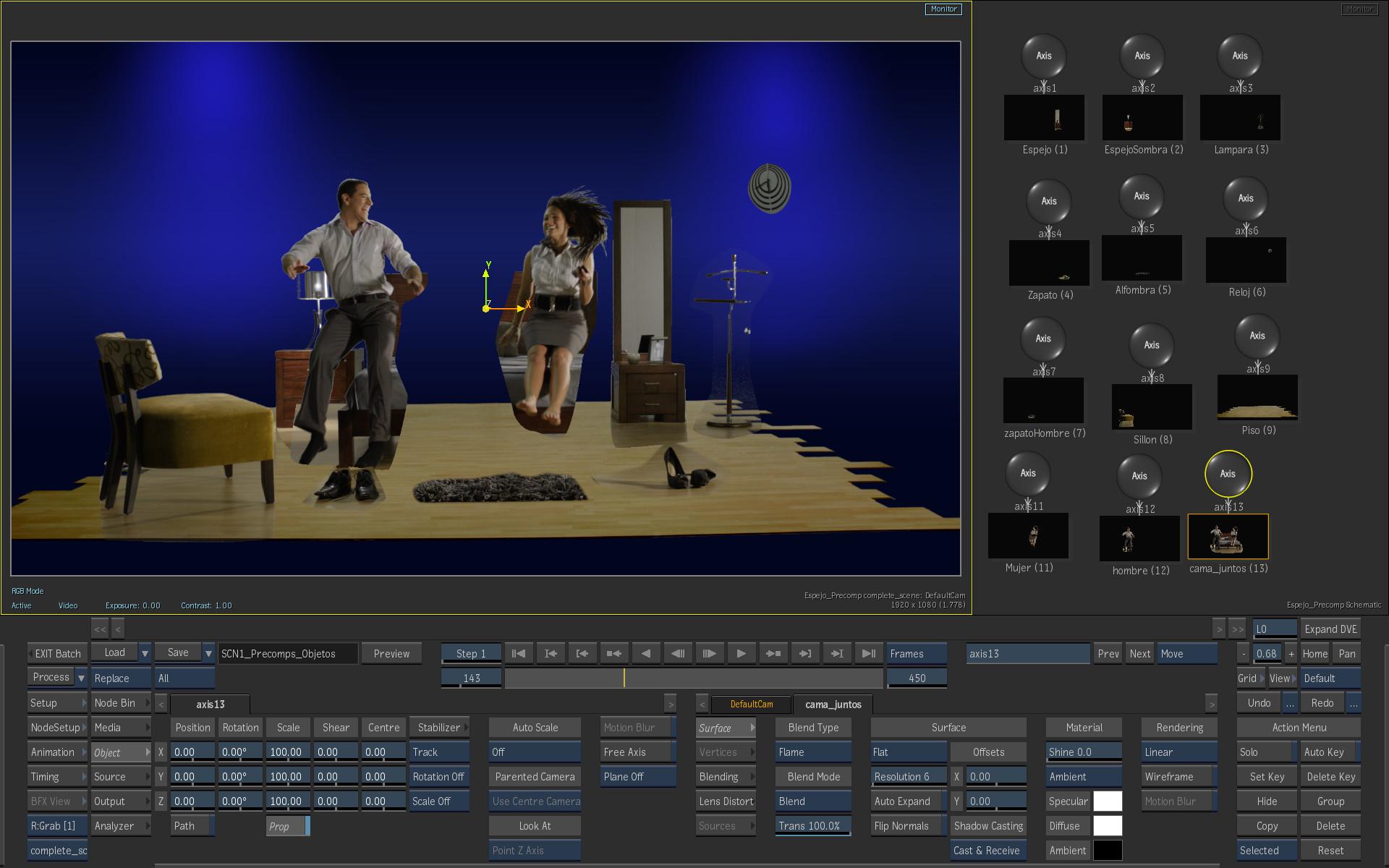 ArtStation - Flame Reel - VFX and 3D works, Pierre Schiller