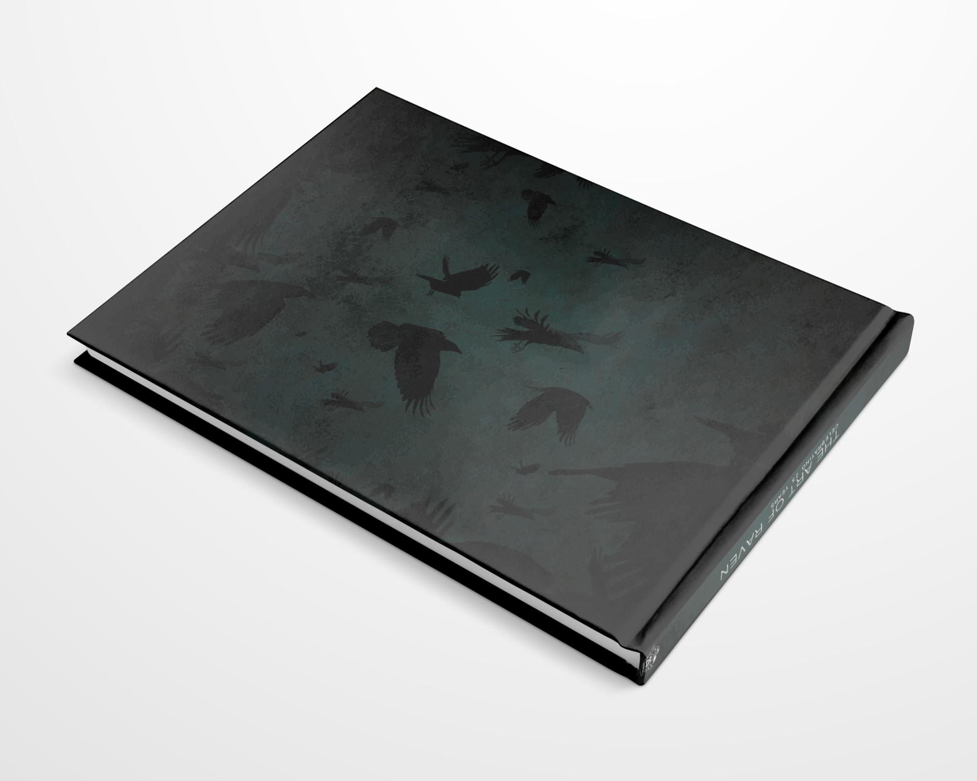 Brian borowiec raven book mock 3