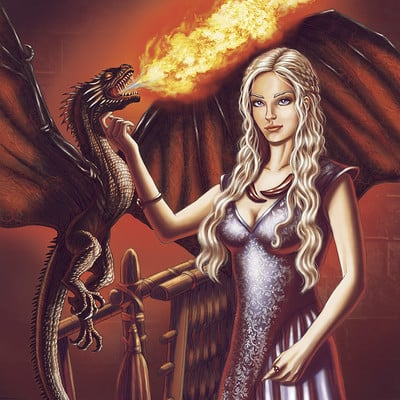 Mike ratera daenerys 2 color 1