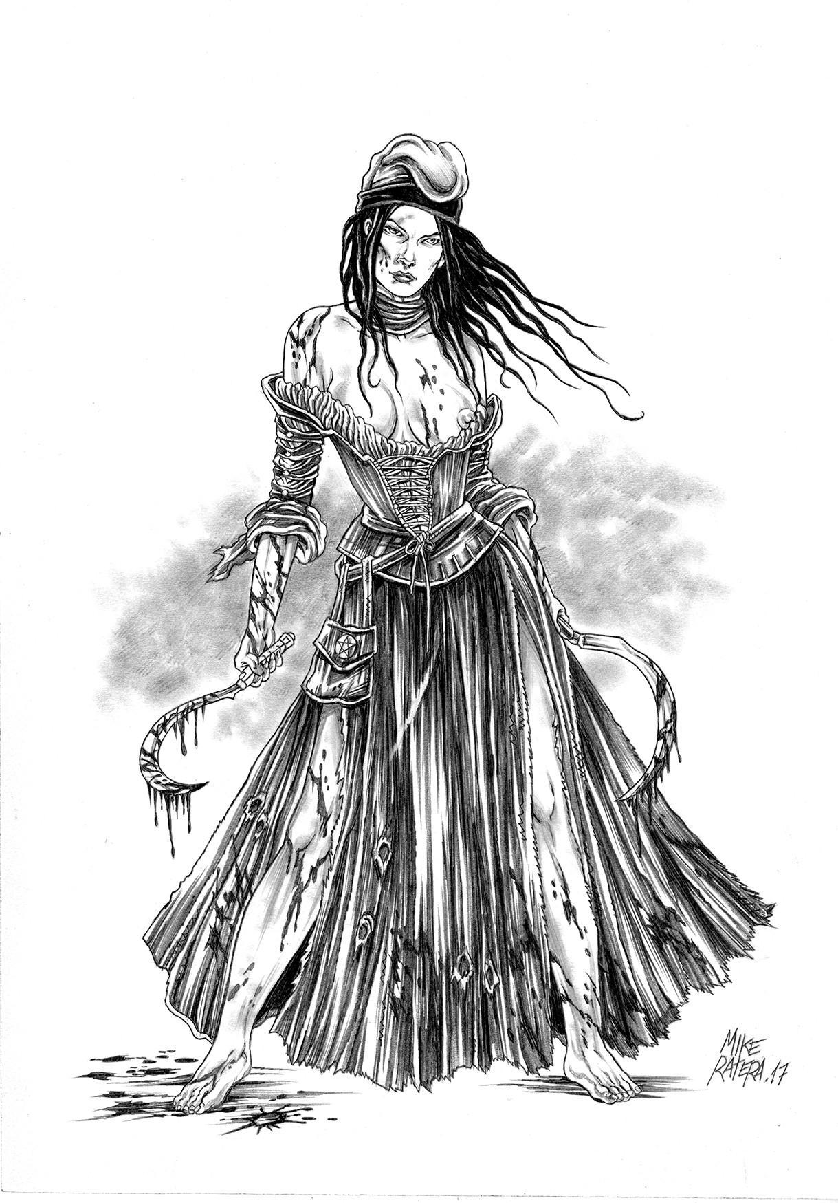 Mike ratera segadors reaper girl concept 3c