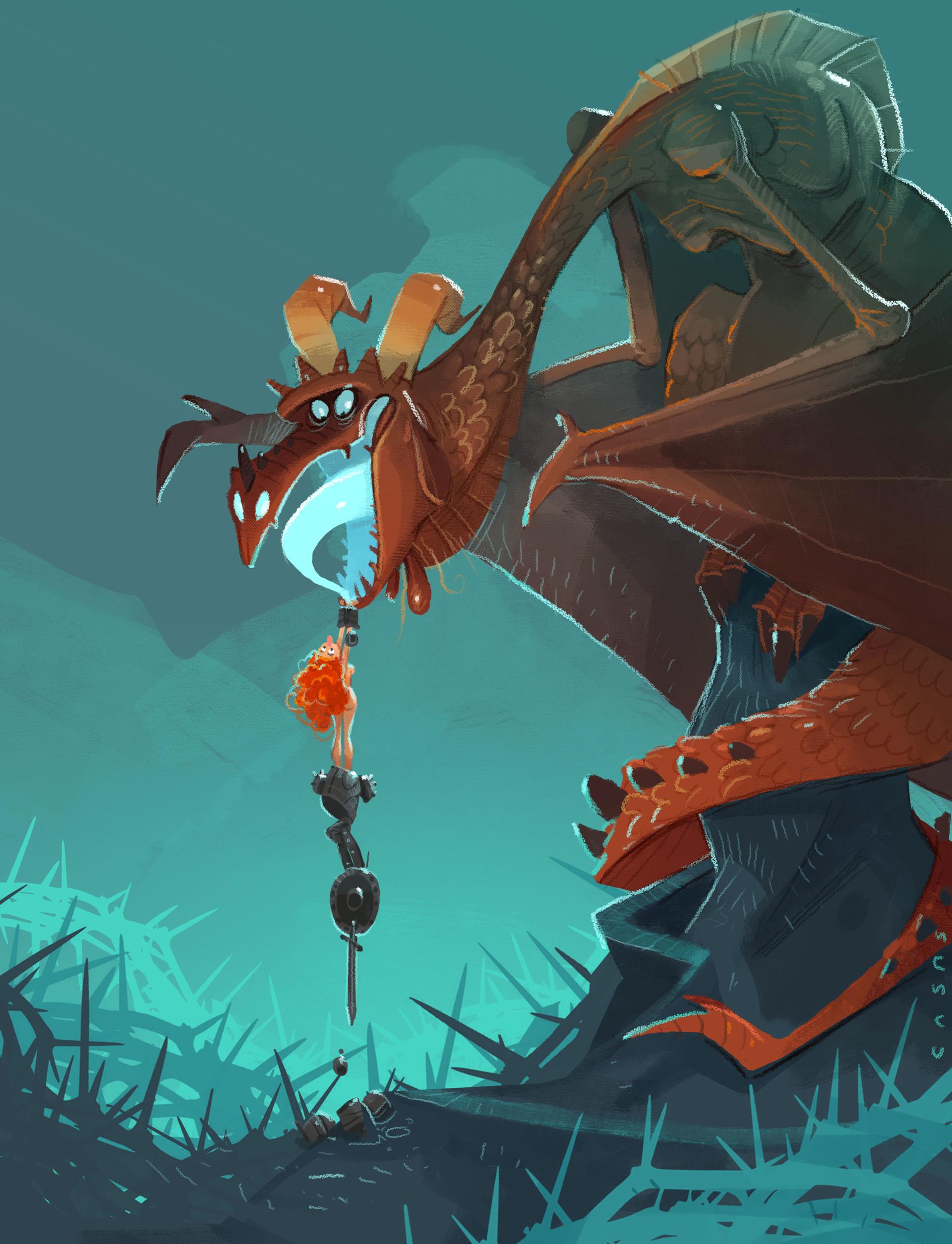 Guillermo casas un dragon porque si