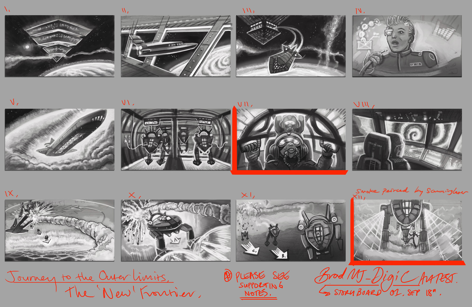 Bradley morgan johnson digic storyboard 1 bradmj