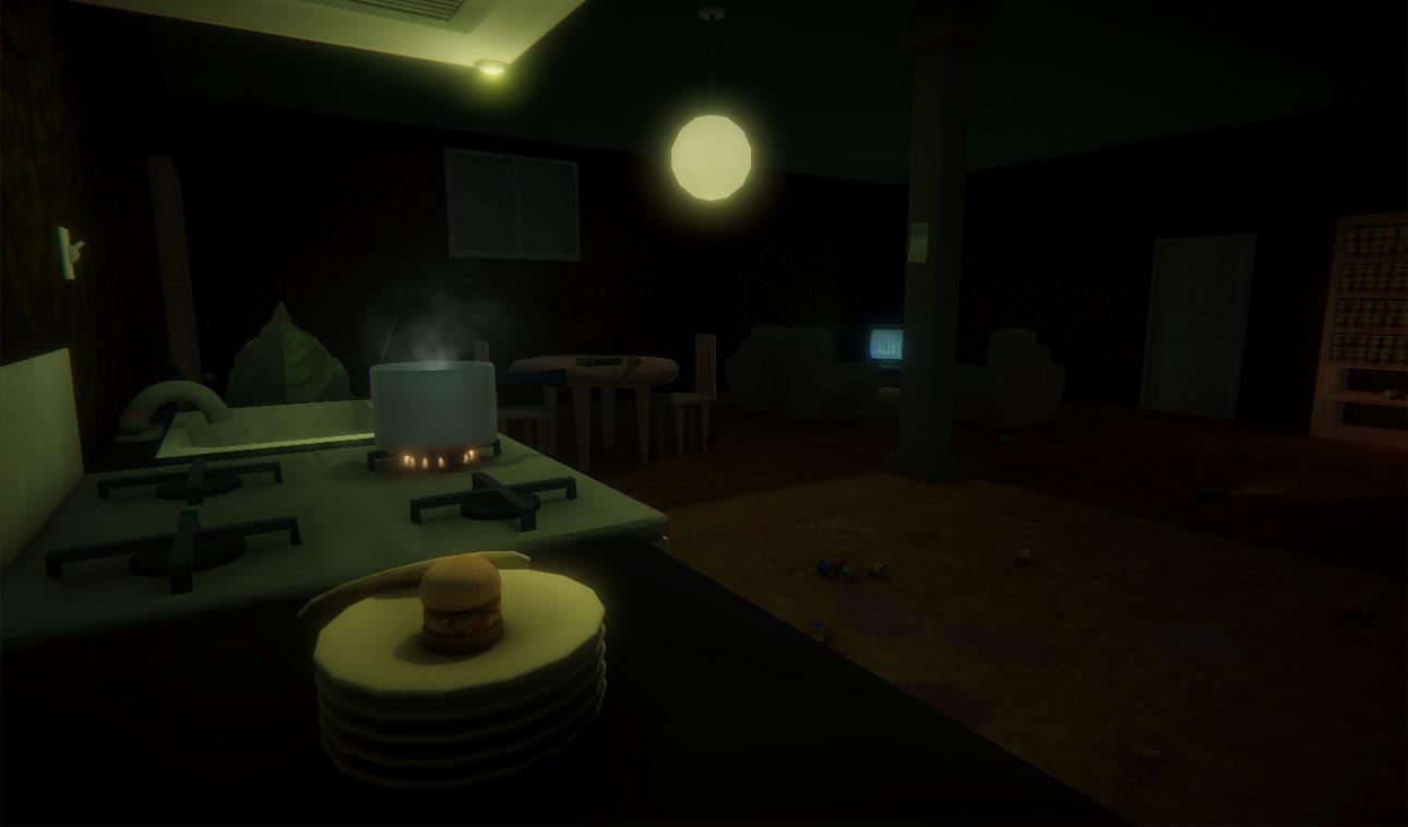 Zombie Post-Apocalypse apartment • Re-uploaded with PostFX.