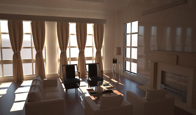 Md  Zunayed Islam - Interior design by 3ds max and Vray render