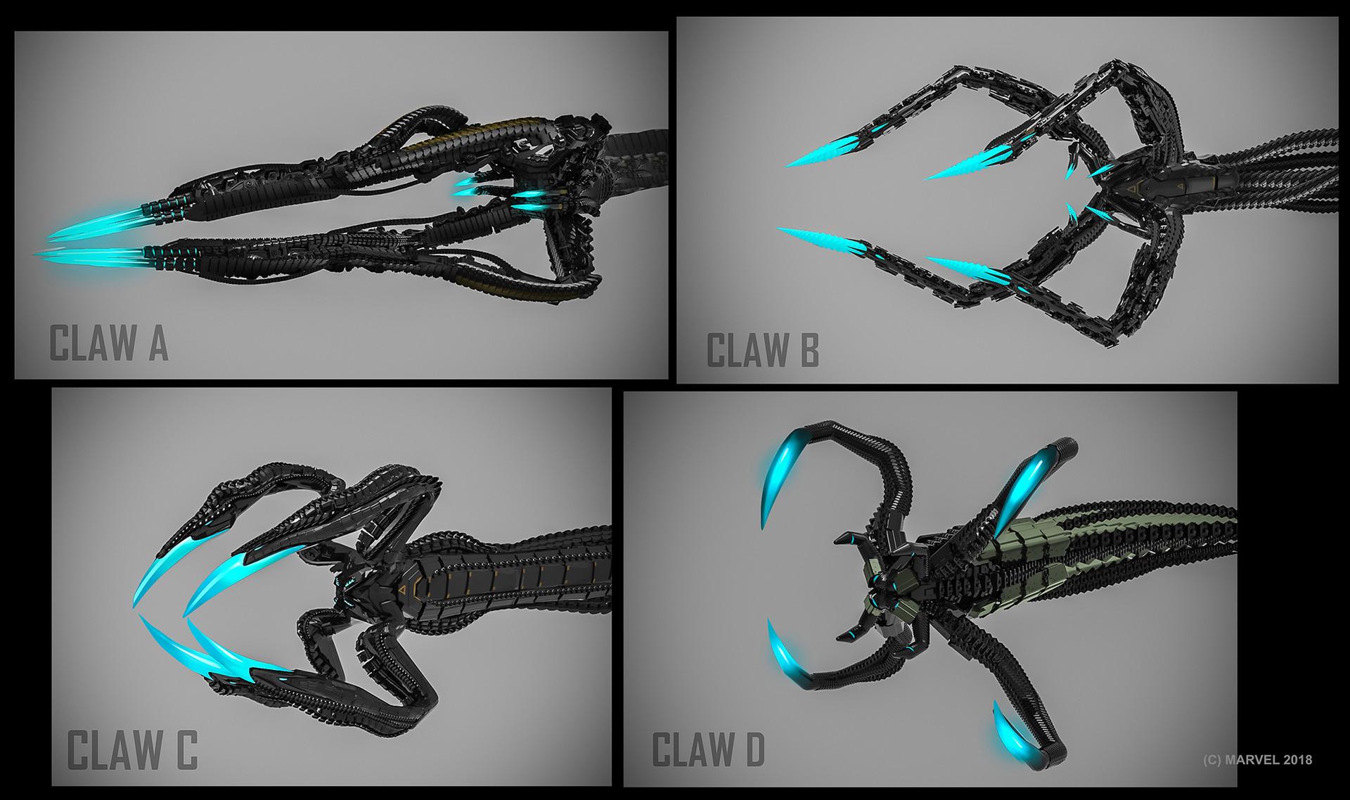 Daryl mandryk claws