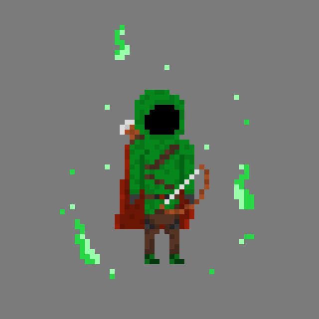 ArtStation - Fantasy Pixel Art Characters, Joe Griffin
