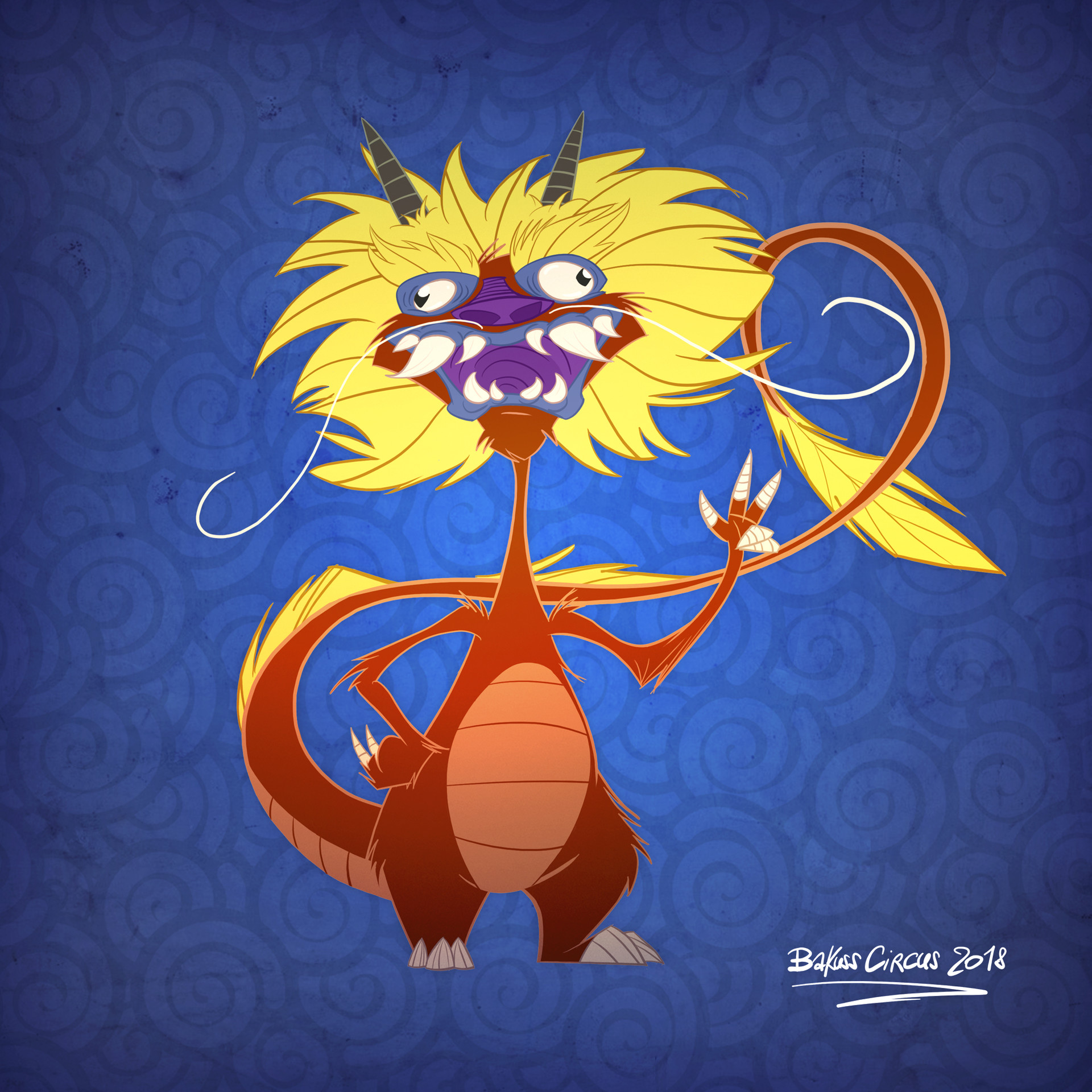 Bakuss circus dragon debilis