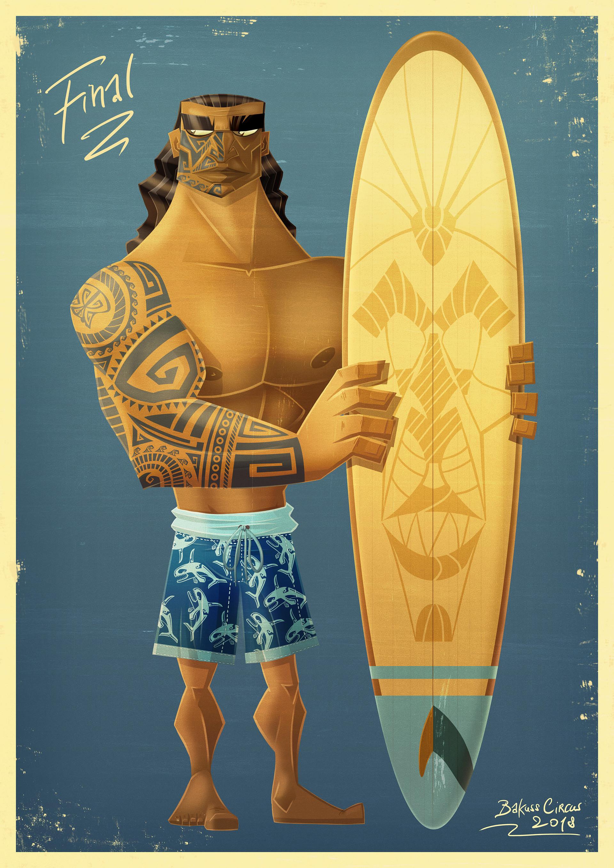 Bakuss circus 05 maori surfer fx