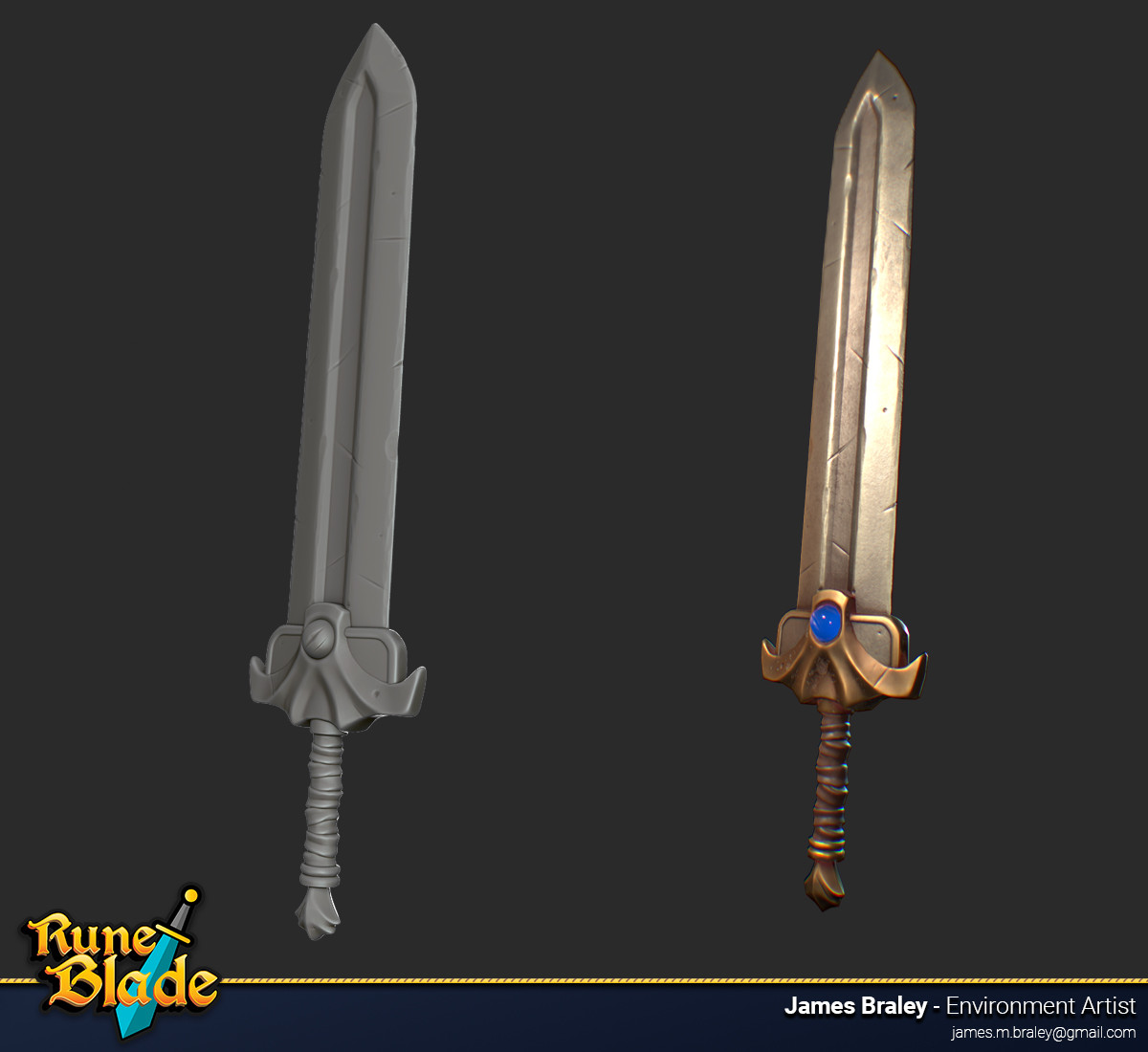 James braley braley runeblade weapons