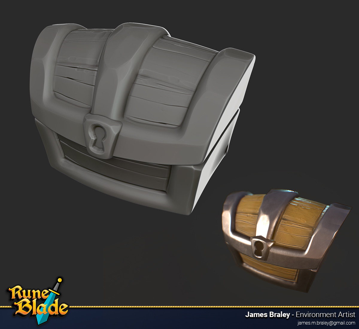 James braley braley runeblade chest