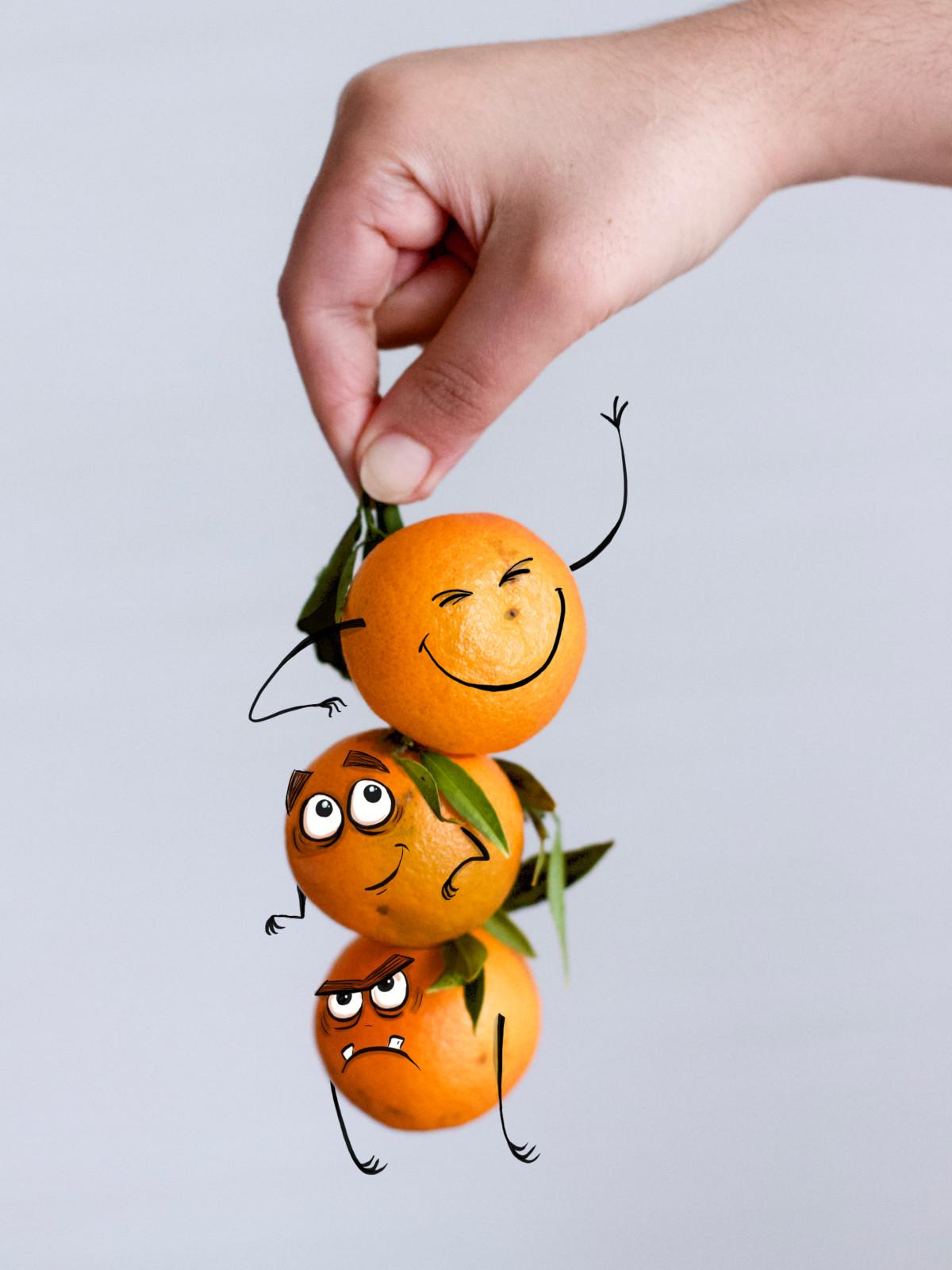 The Trio Orange-Creatures