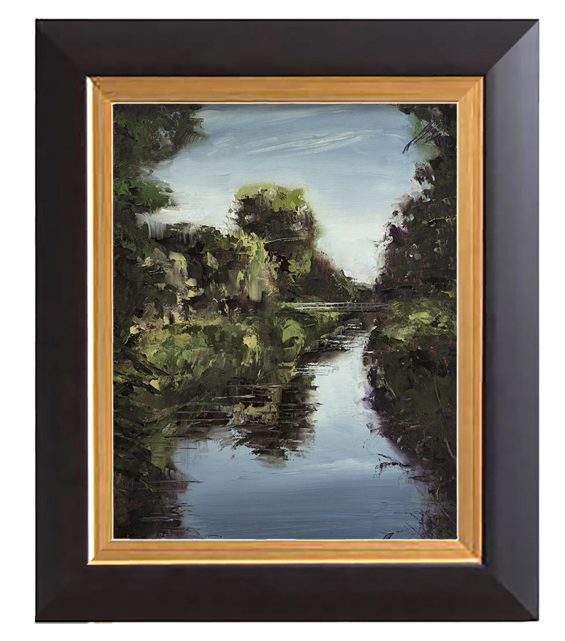 Arthur haas arthur haas channel bridge framed small