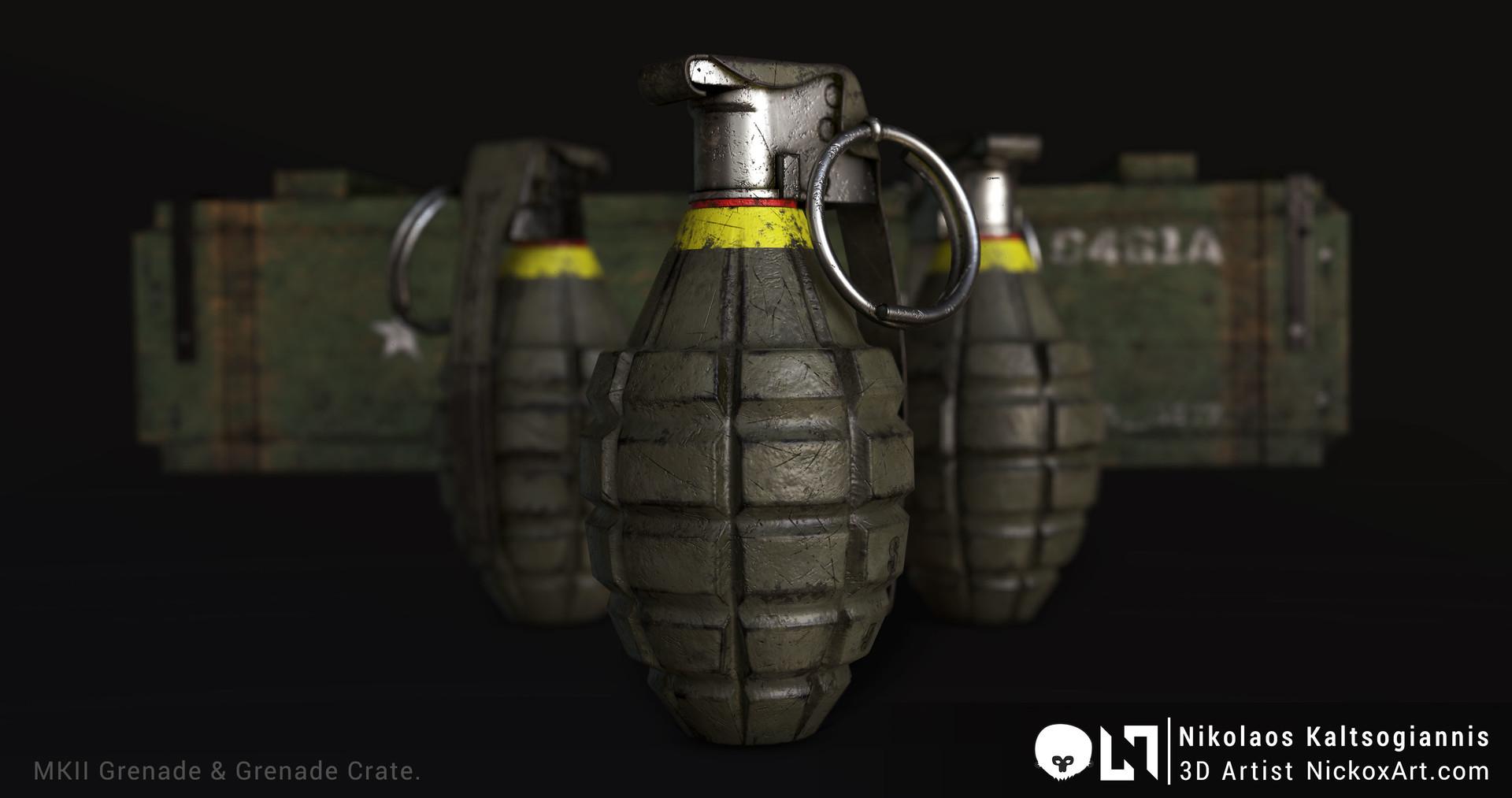MKII Grenade & Grenade Crate.