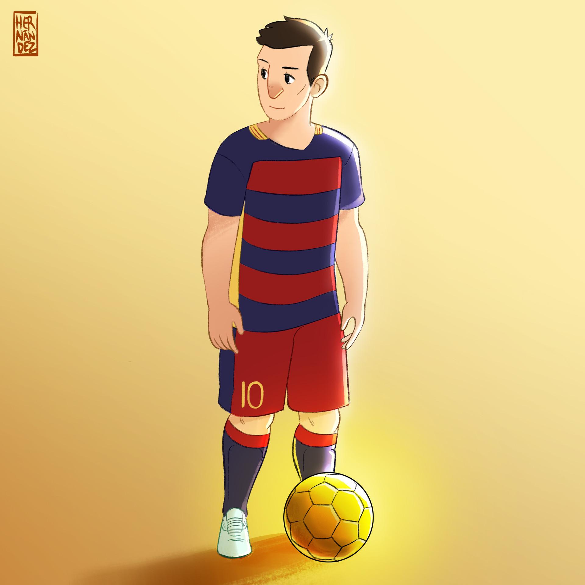 Lionel Messi. 2015