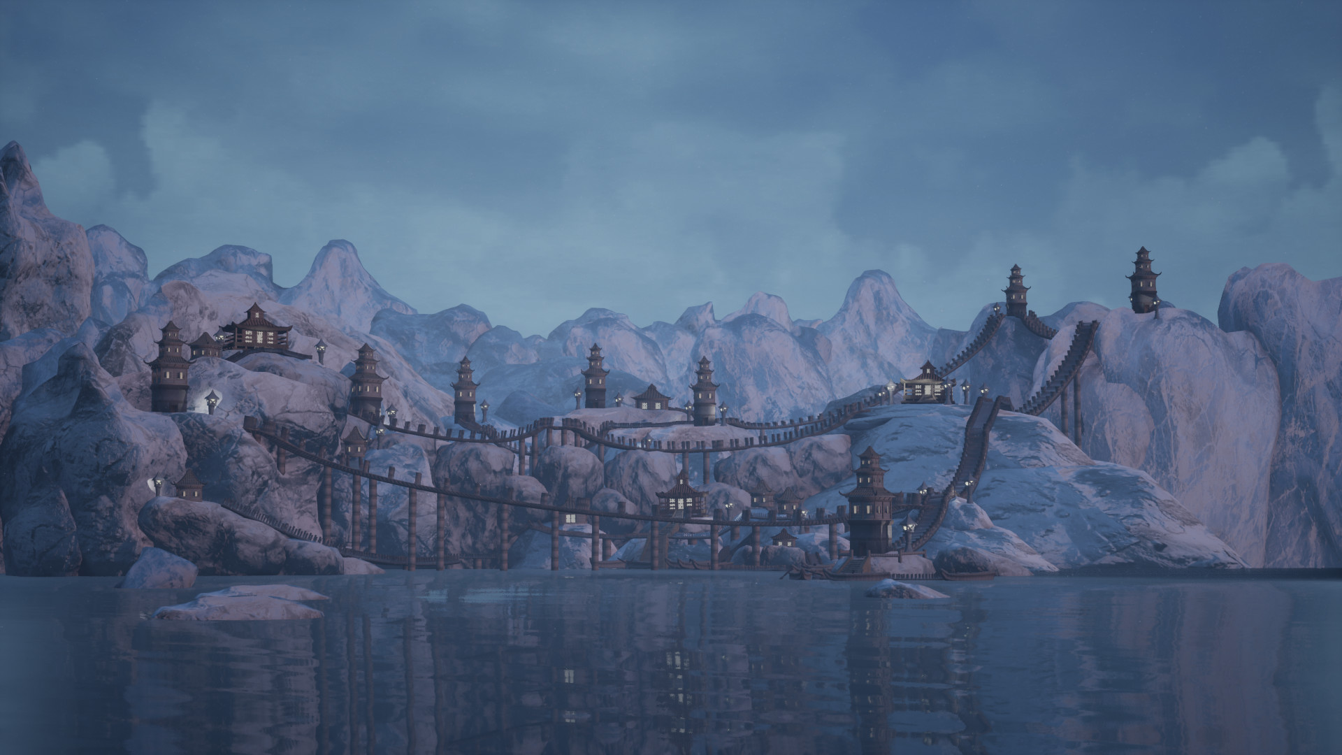 Asen Kambitov - Small/Low poly UE 4 Environment