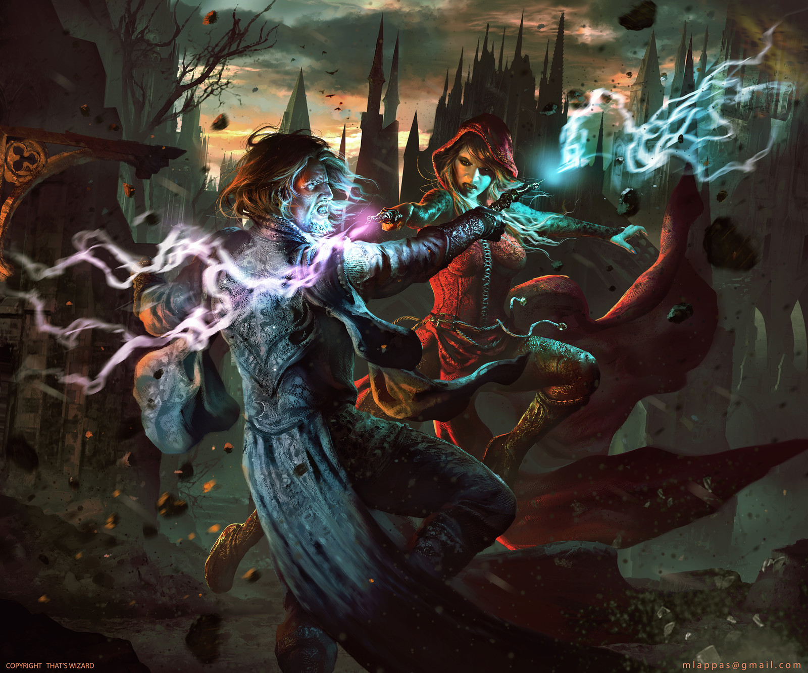 That's Wizard- Card Game Box Cover Art
