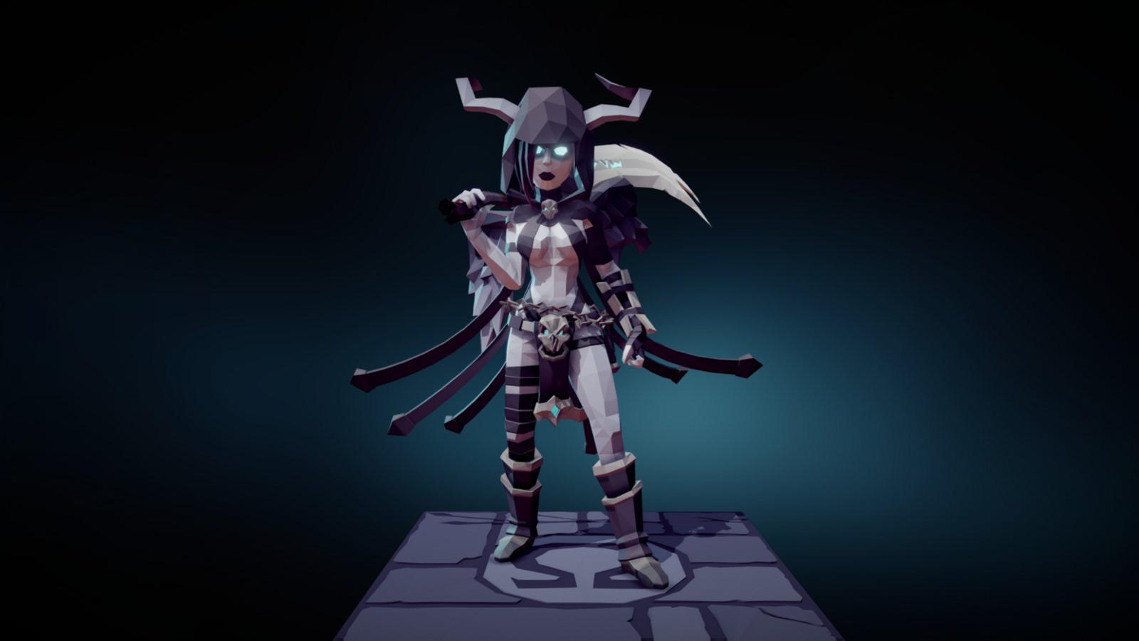 Female Warrior Character