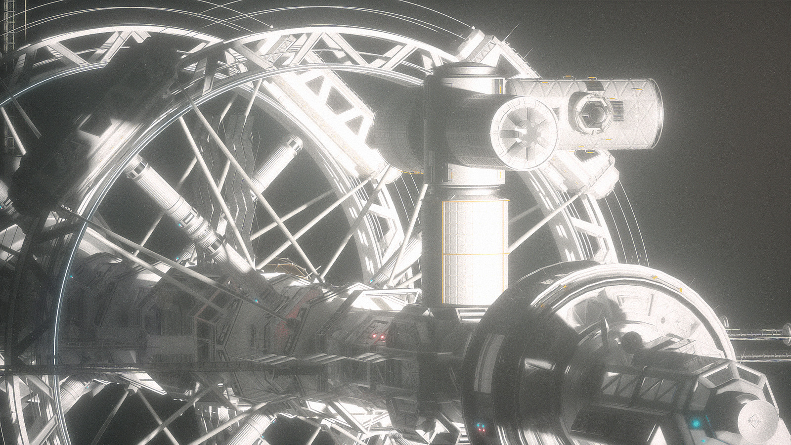 Daybreak Spaceship