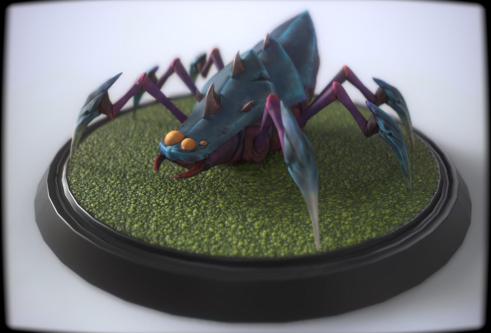 Printable goodies test - Spider mob