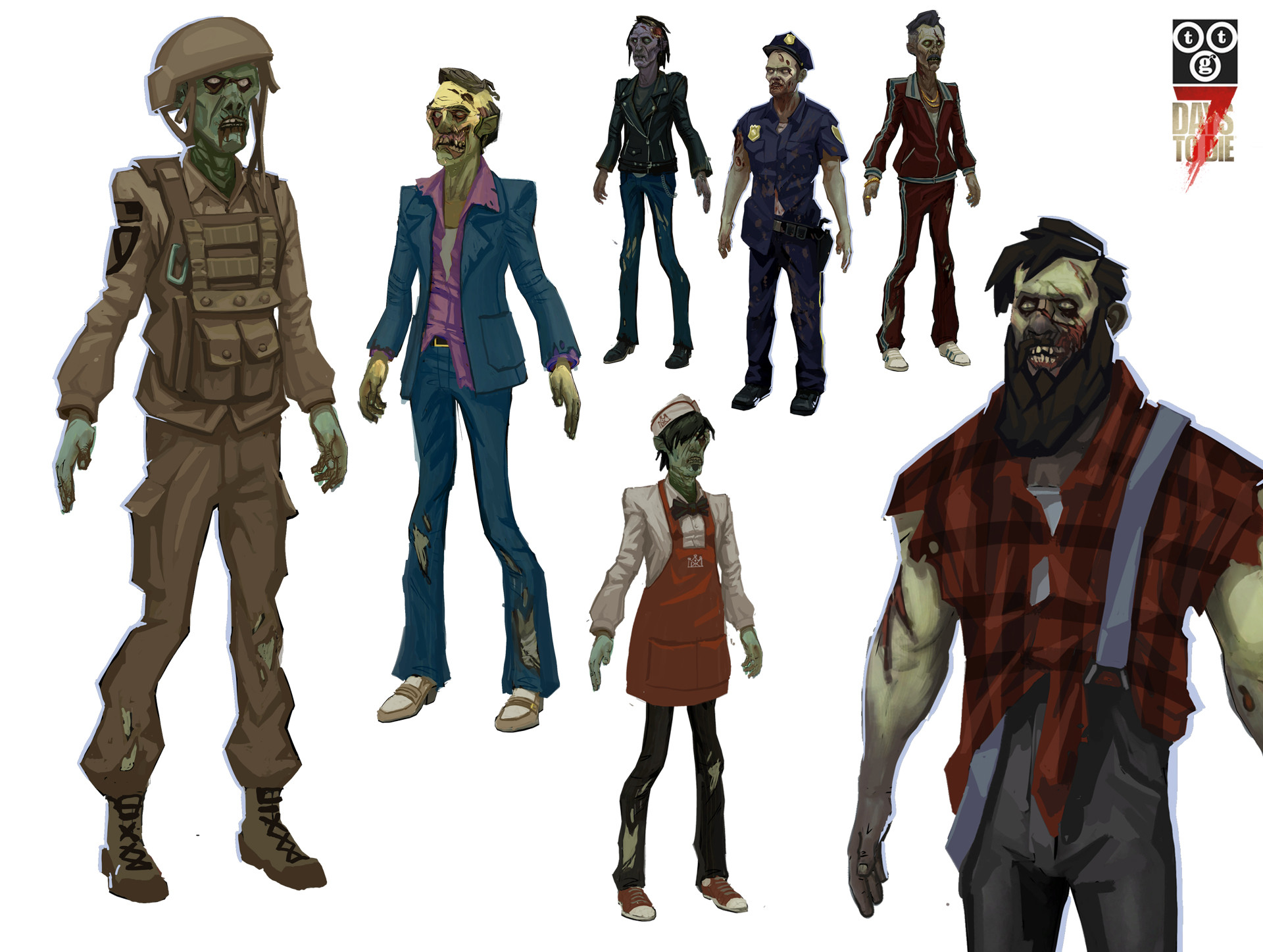 Bruce glidewell male zombies