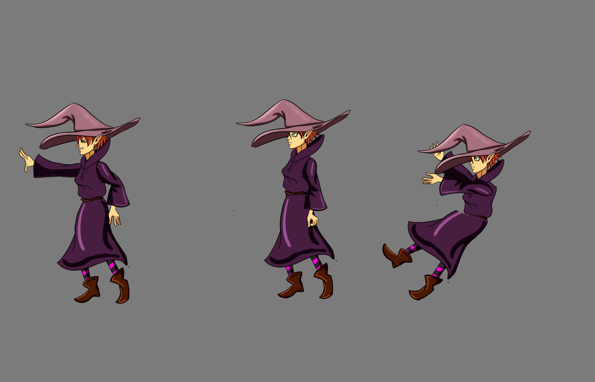 Sprite sample - Witch