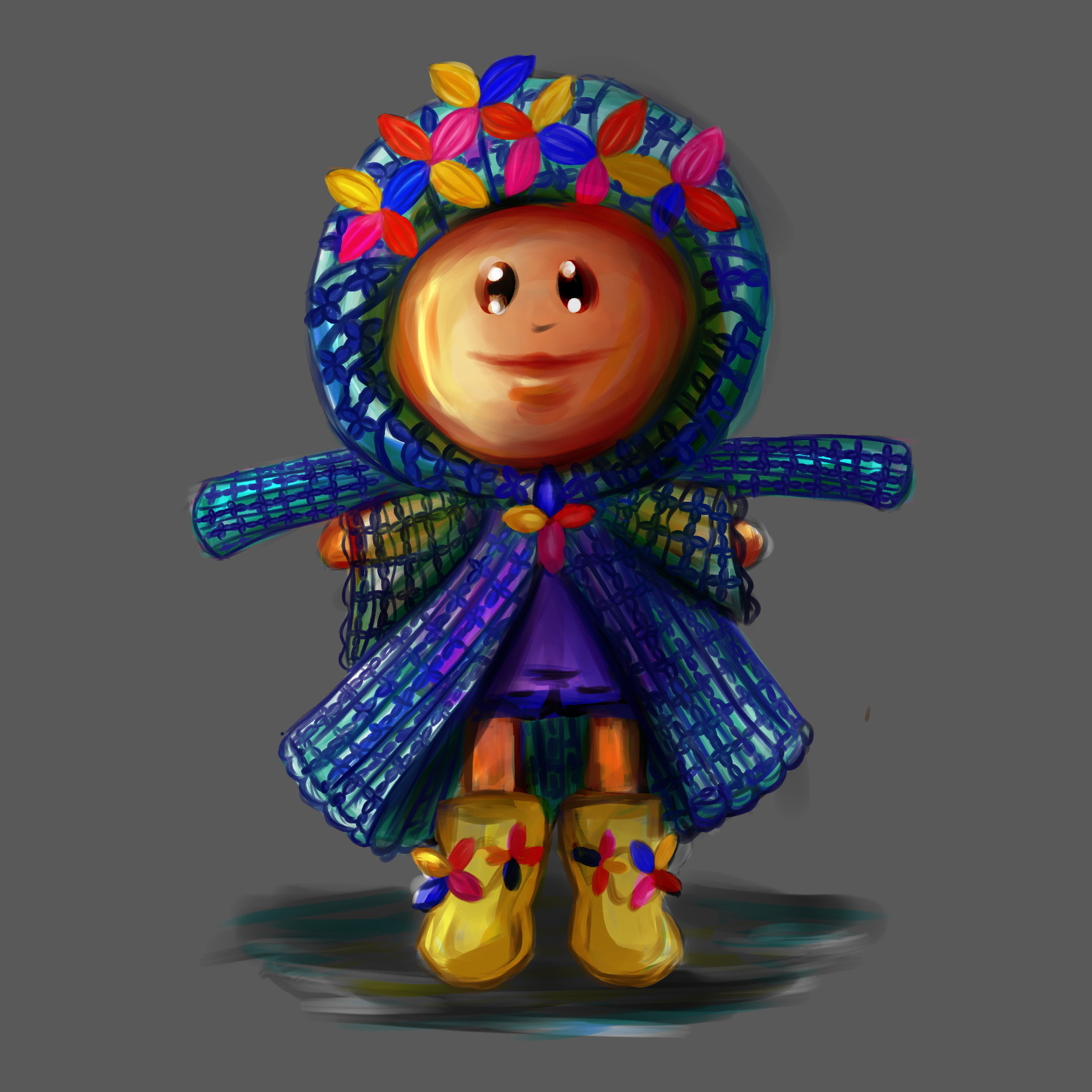 Bilro character design