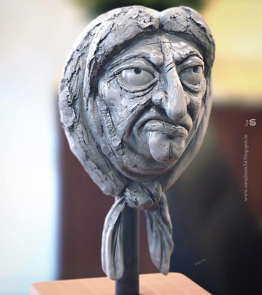Surajit sen gran speed sculpt by surajitsen 23092018 ins