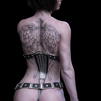 Daniela diederichs tatoo