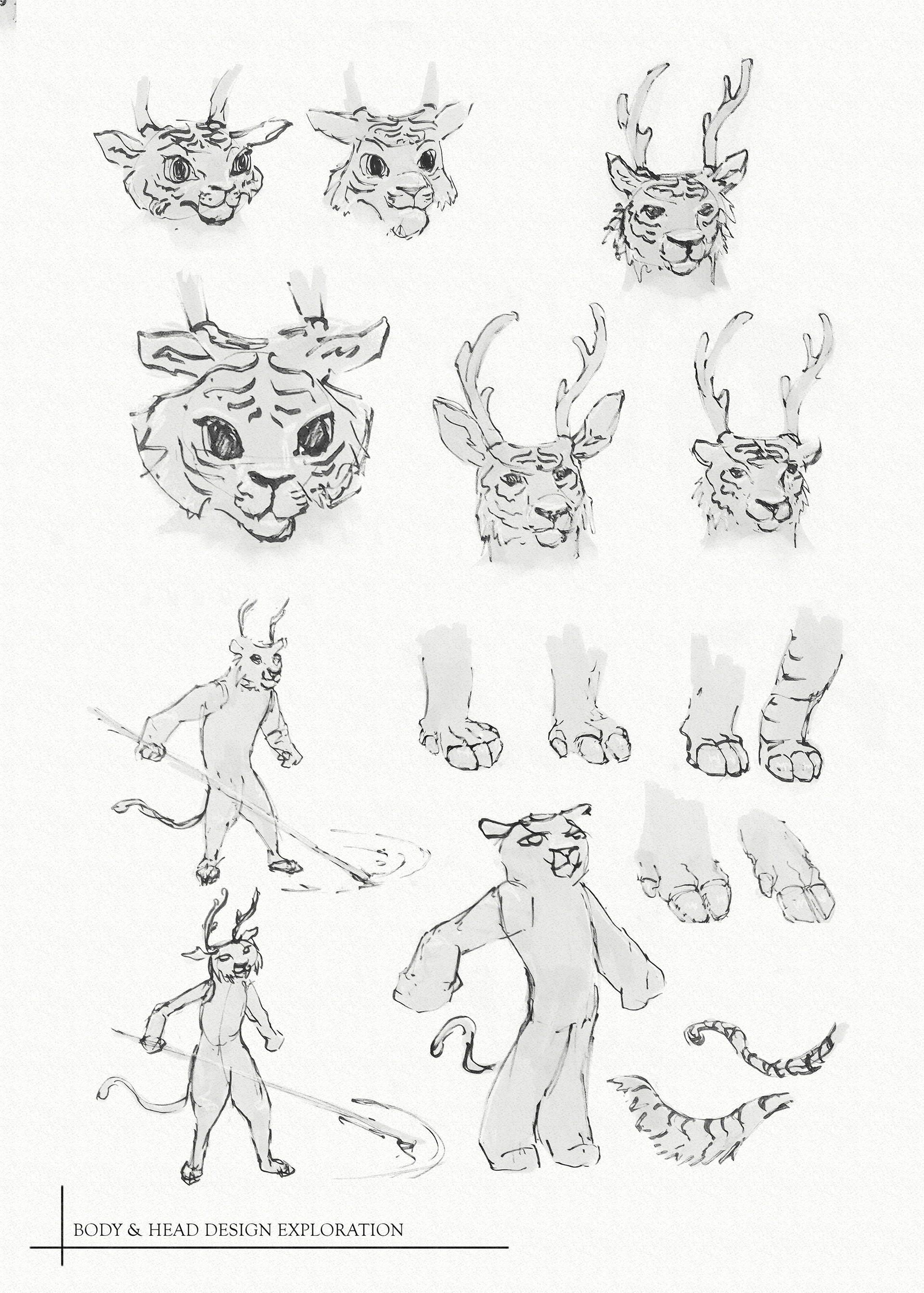 Matthew trickel tiger body hex design exploration web
