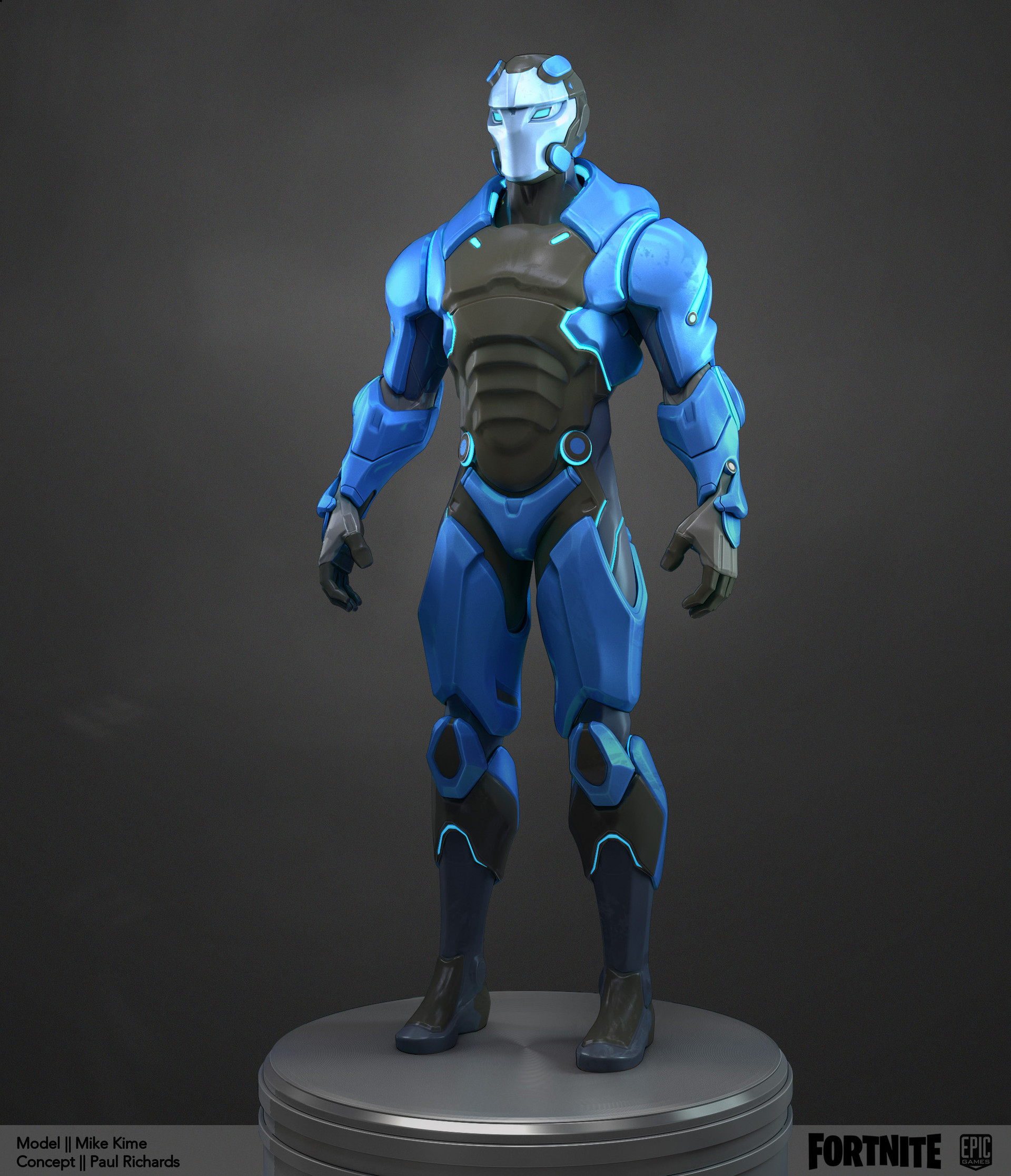 Artstation Fortnite Carbide And Omega Mike Kime