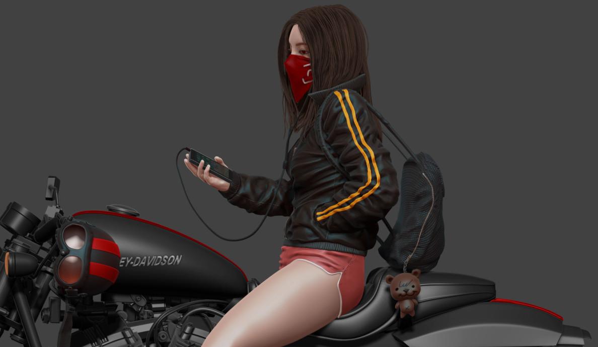 Biker Girl_V.2