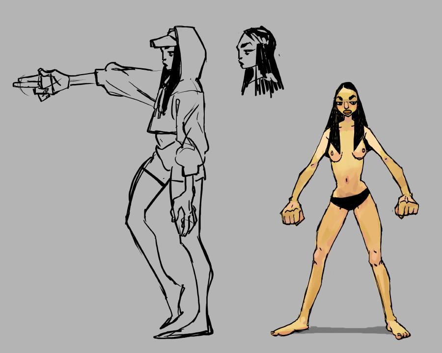 Kelsey martin assassin reshape sketches s