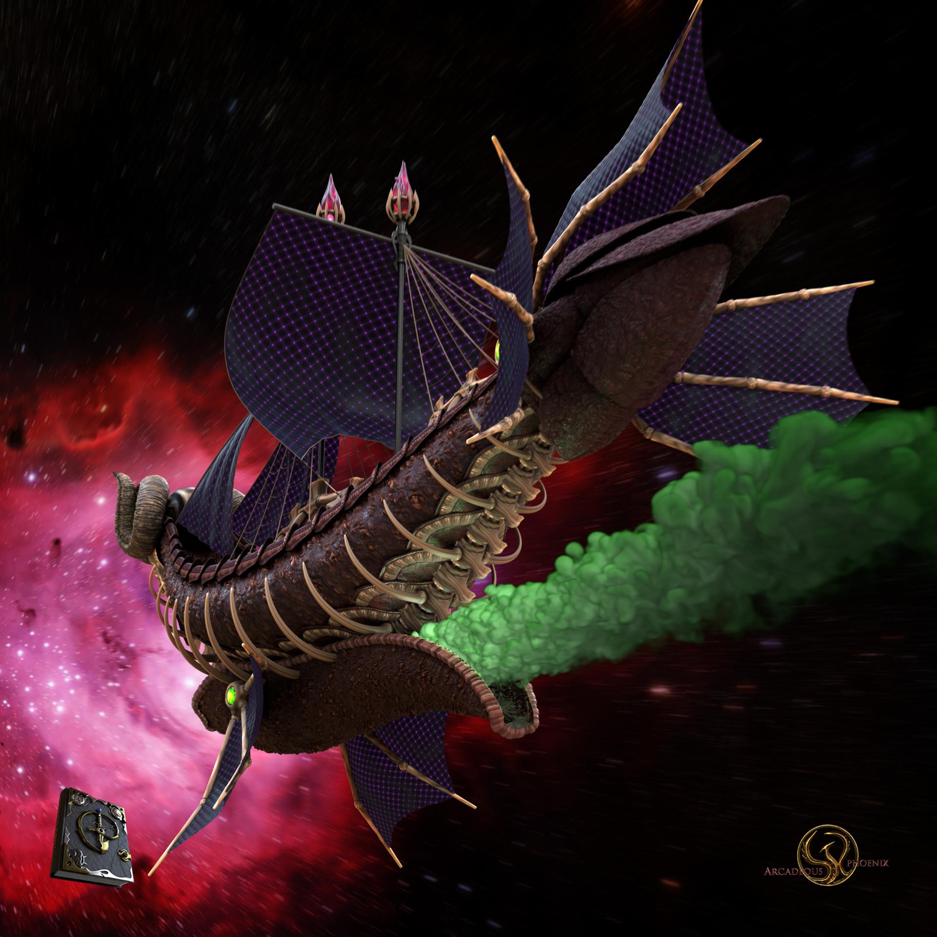 Arcadeous phoenix aries ship 0022