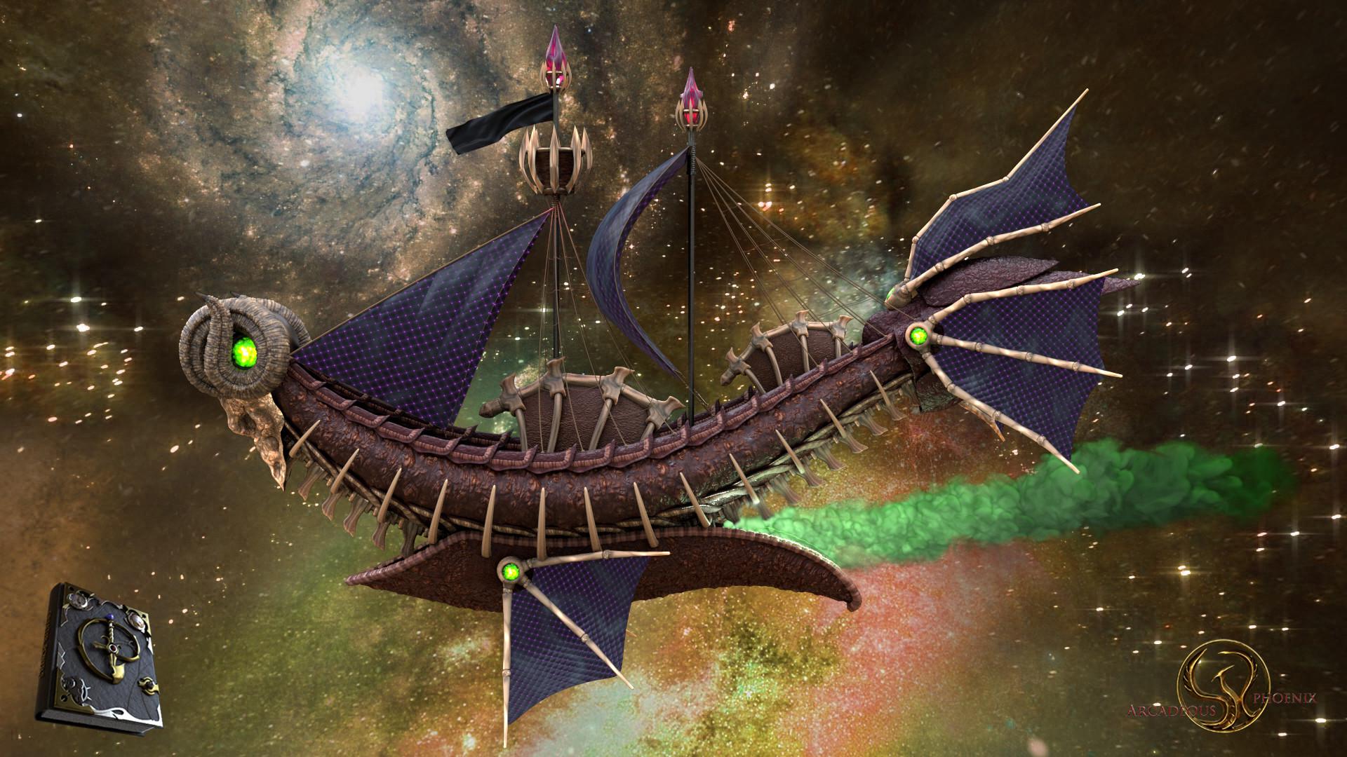 Arcadeous phoenix aries ship 0022b