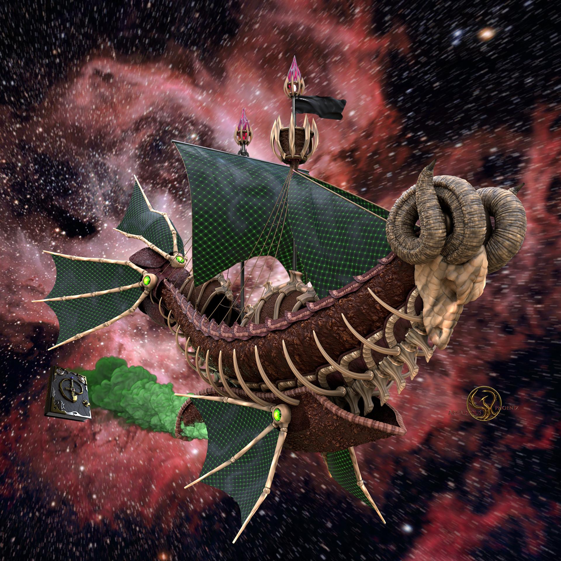 Arcadeous phoenix aries ship 0023b
