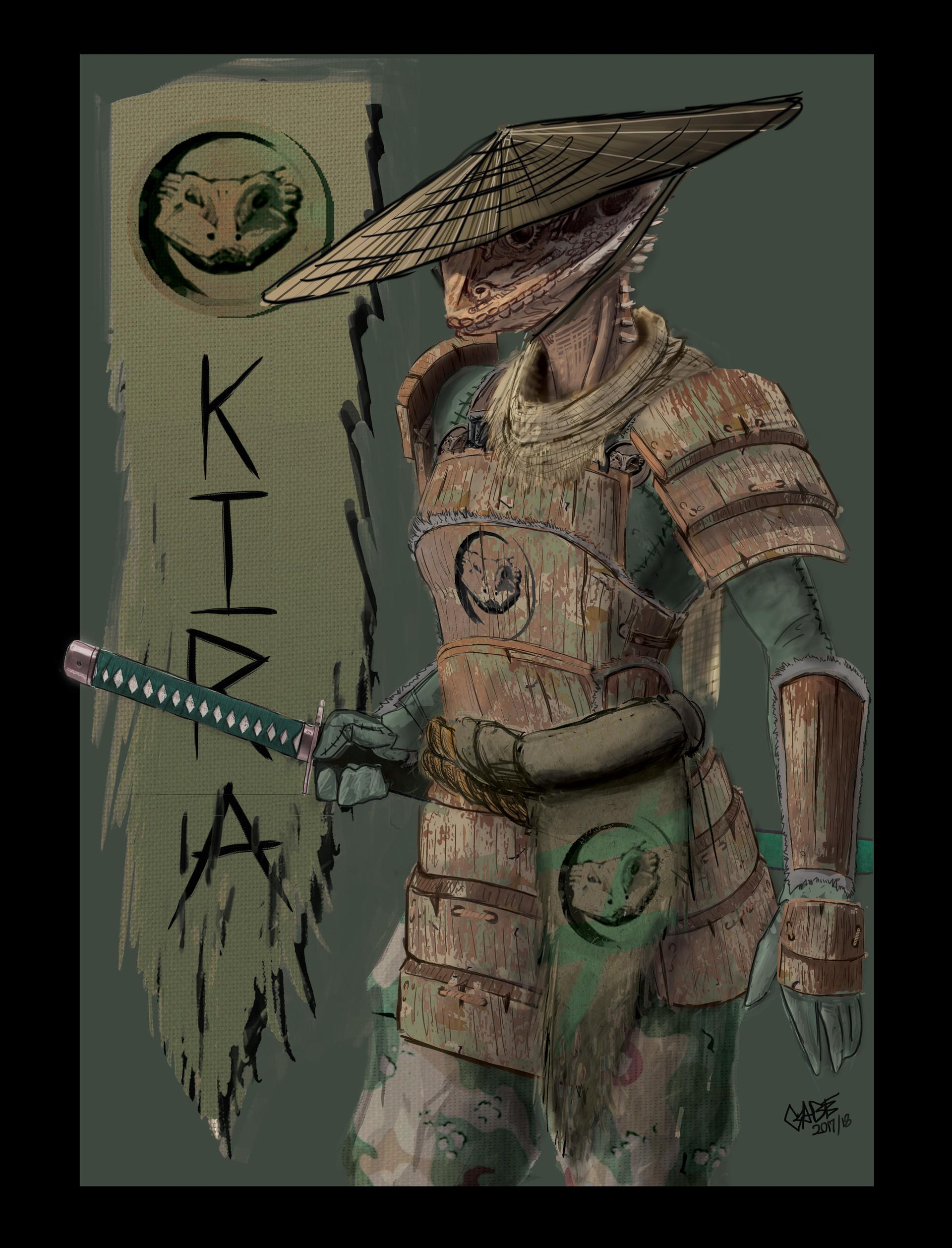 Lizard samurai