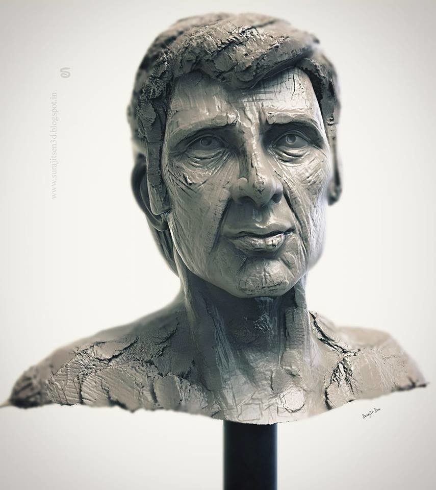 #doodle #quicksculpt #study   My free time quick sculpt study......Harry .  Wish to share.